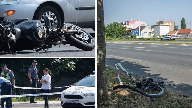 Prizori s mjesta strave: 'Nisam čula kočenje, već samo udarac, motor je bio 150 m od sudara'
