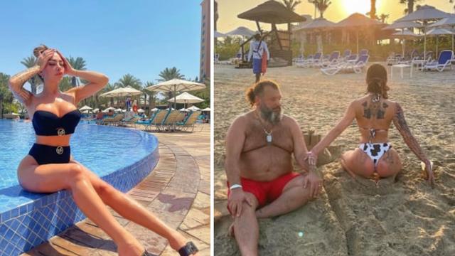 Annie Šukunda Gavrilović uživa u Dubaiju i mazi supruga na pješčanoj plaži: 'Život ženice...'