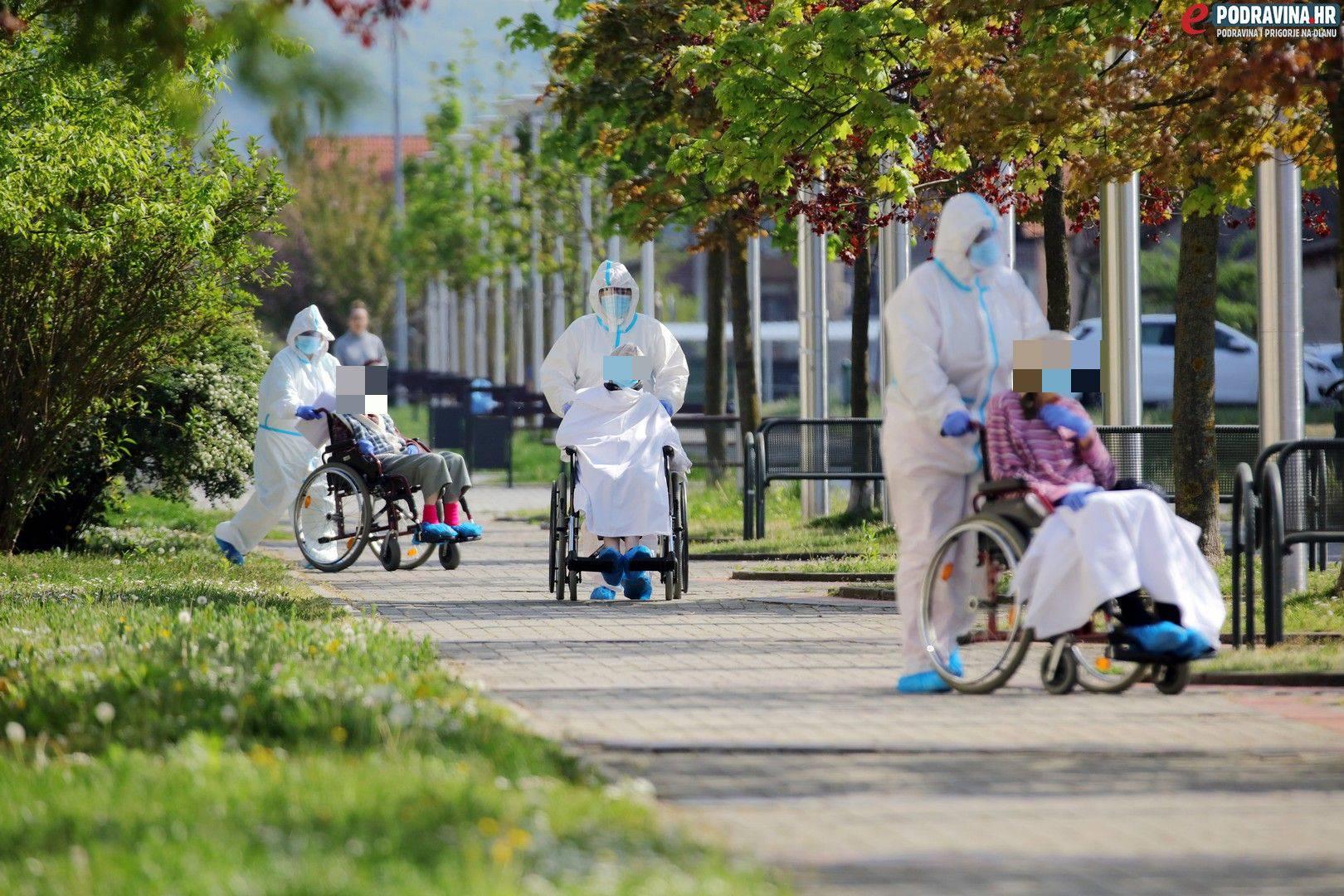 Zaraženo je 28 štićenika i 6 djelatnika Doma u Koprivnici