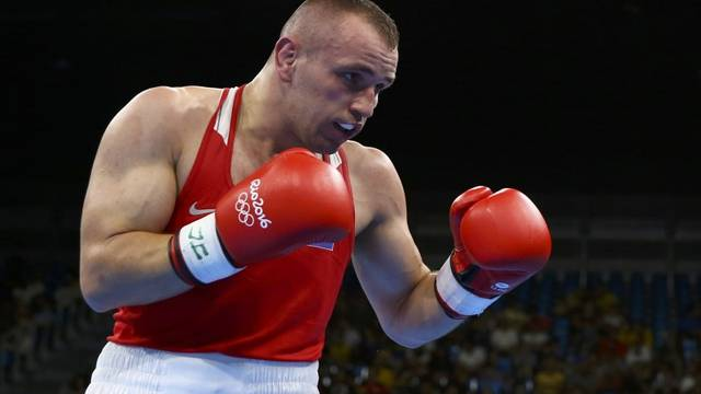 Boxing - Men's Light Heavy (81kg) Round of 32 Bout 8