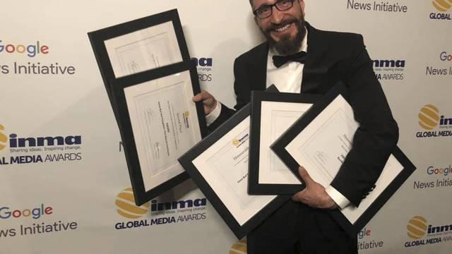 Novo veliko priznanje: 24sata osvojila 5 nagrada za projekte