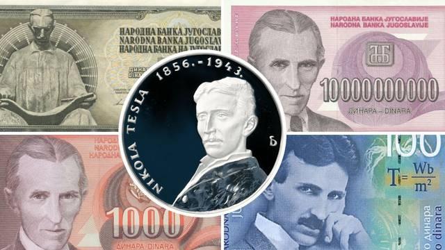 Sjećate li se ovih novčanica? Evo gdje su sve Jugoslavija, Srbija i Hrvatska koristile Teslin lik