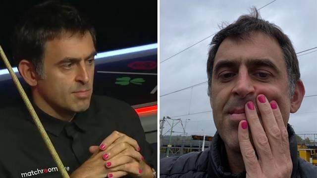 Najbolji u povijesti igra snooker s nalakiranim noktima u rozo...