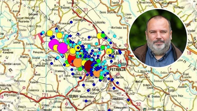 Pogledajte kartu potresa koji su pogodili Petrinju: 'Bilo ih je više od 500, a očekujemo ih još...'