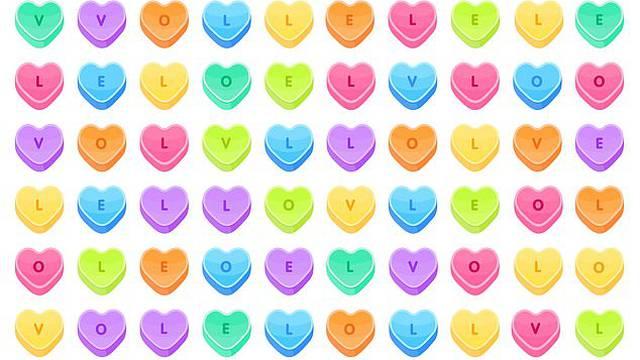Vidite li riječ 'LOVE' u srcima? Pronađite je i oborite rekord