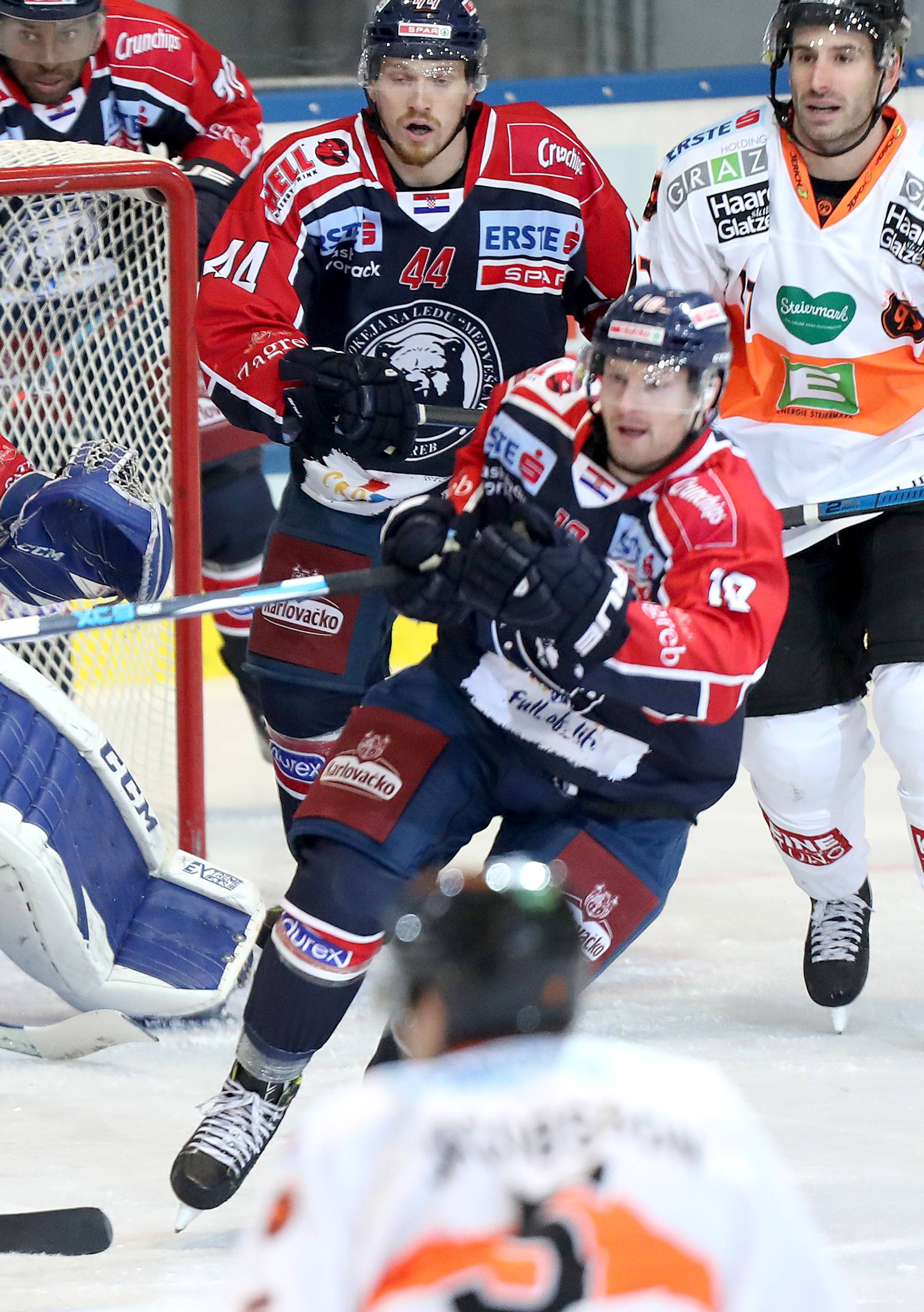 Sisak: EBEL liga, 06. kolo, KHL Medveščak - UPC Vienna Capitals