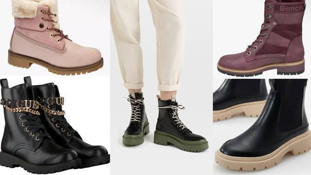 Trendi čizme: Najpopularnije kreacije inspirirane su grunge stilom i zimskim radostima