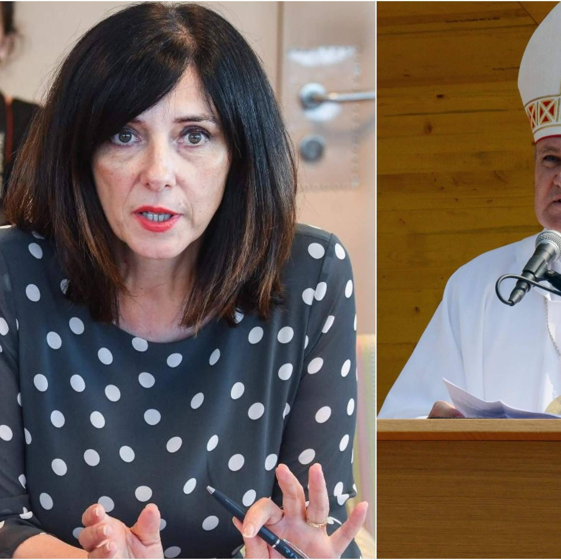 Divjak poručila Košiću: 'Neka se biskupi drže svog resora'