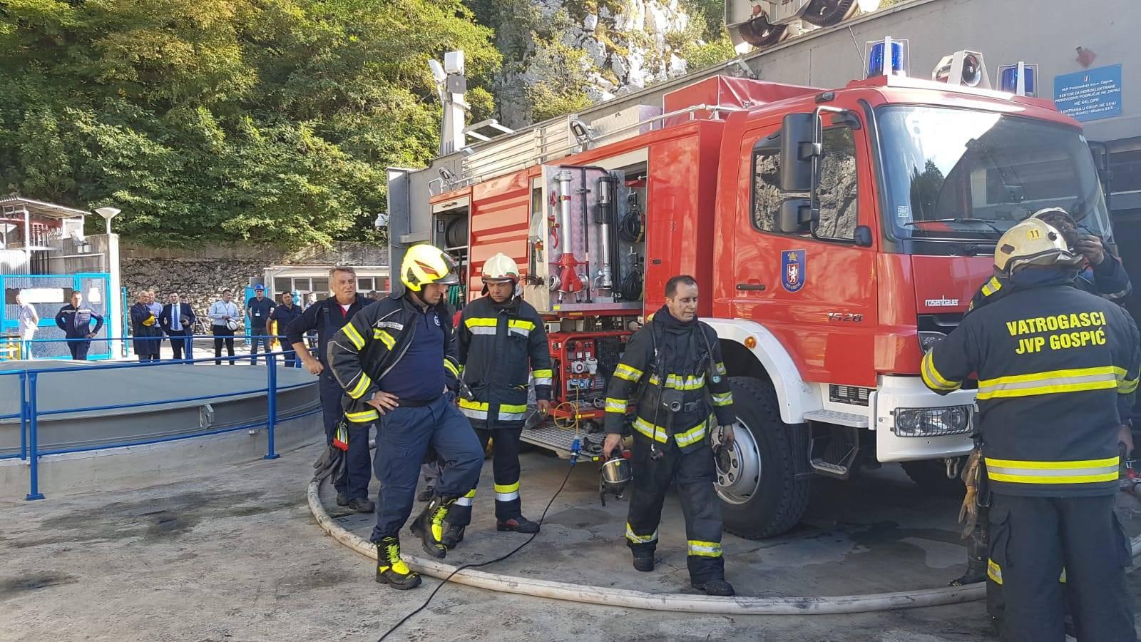Gorjela hidroelektrana: Požar je buknuo tri kata ispod zemlje, jedan radnik se nagutao dima