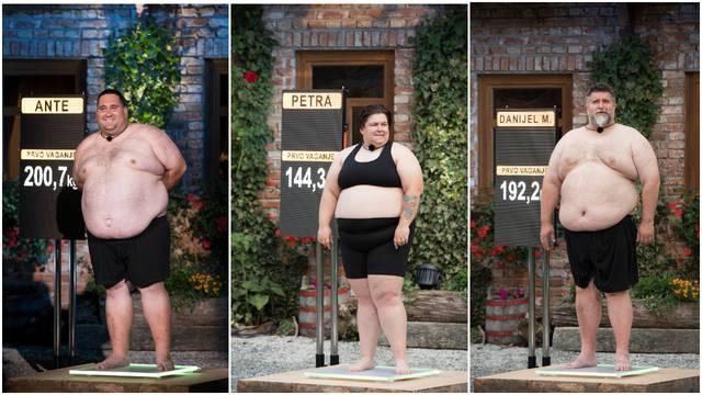 Već su pale i prve suze: Najteži kandidat ima 200 kilograma...