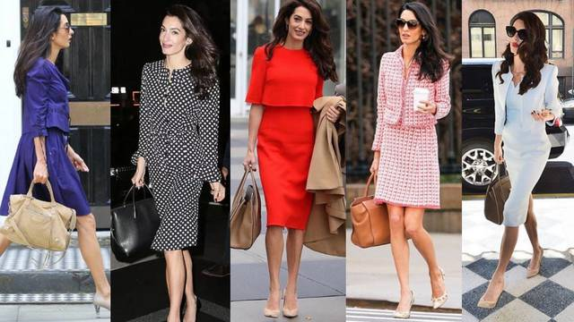 Uglađeni poslovni look: Amal Clooney ikona je biznis stila
