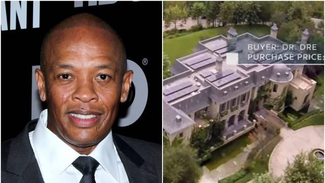 Pokušali provaliti u vilu Dr. Drea od 45 mil. dolara, policija privela četiri razbojnika...