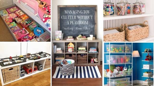 Top 20 ideja kako organizirati igračke - da kuća bude uredna