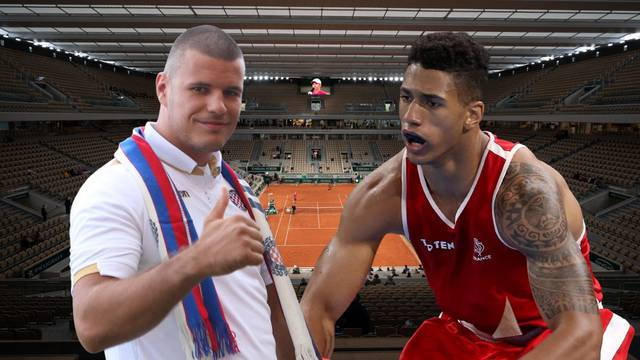Milas s olimpijskim prvakom na Roland Garrosu: Stiže i Torcida, ne zna Tony Yoka što ga čeka!