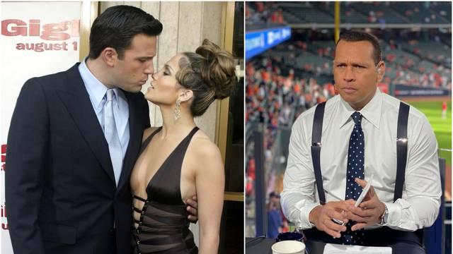 Alex Rodriguez 'veoma šokiran' što su Jennifer Lopez i Ben Affleck ponovno zajedno