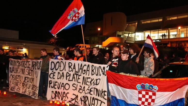 Bajagu su u Rijeci dočekali s nacionalističkim porukama...