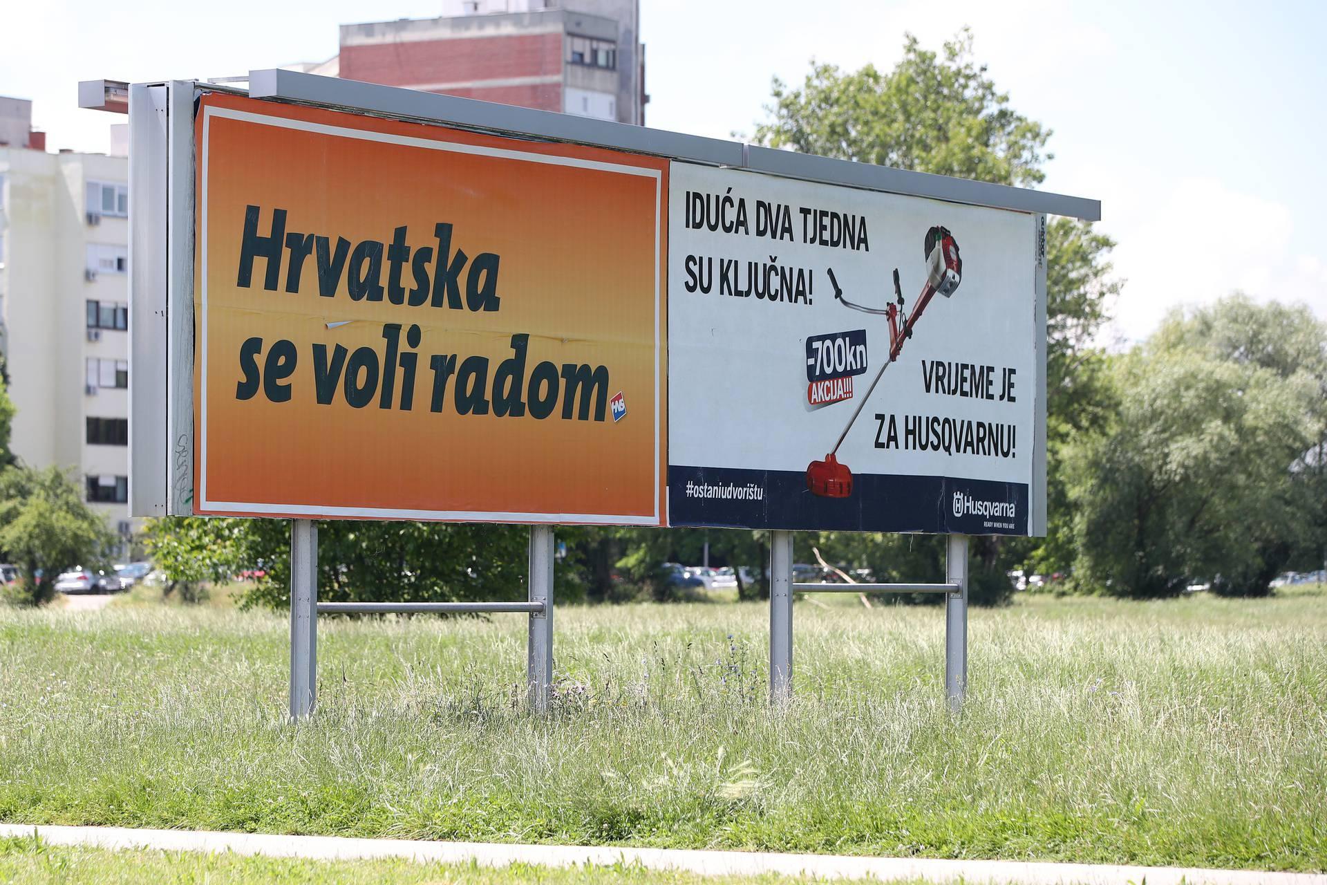 Zagreb: Predizborni plakati preplavili grad