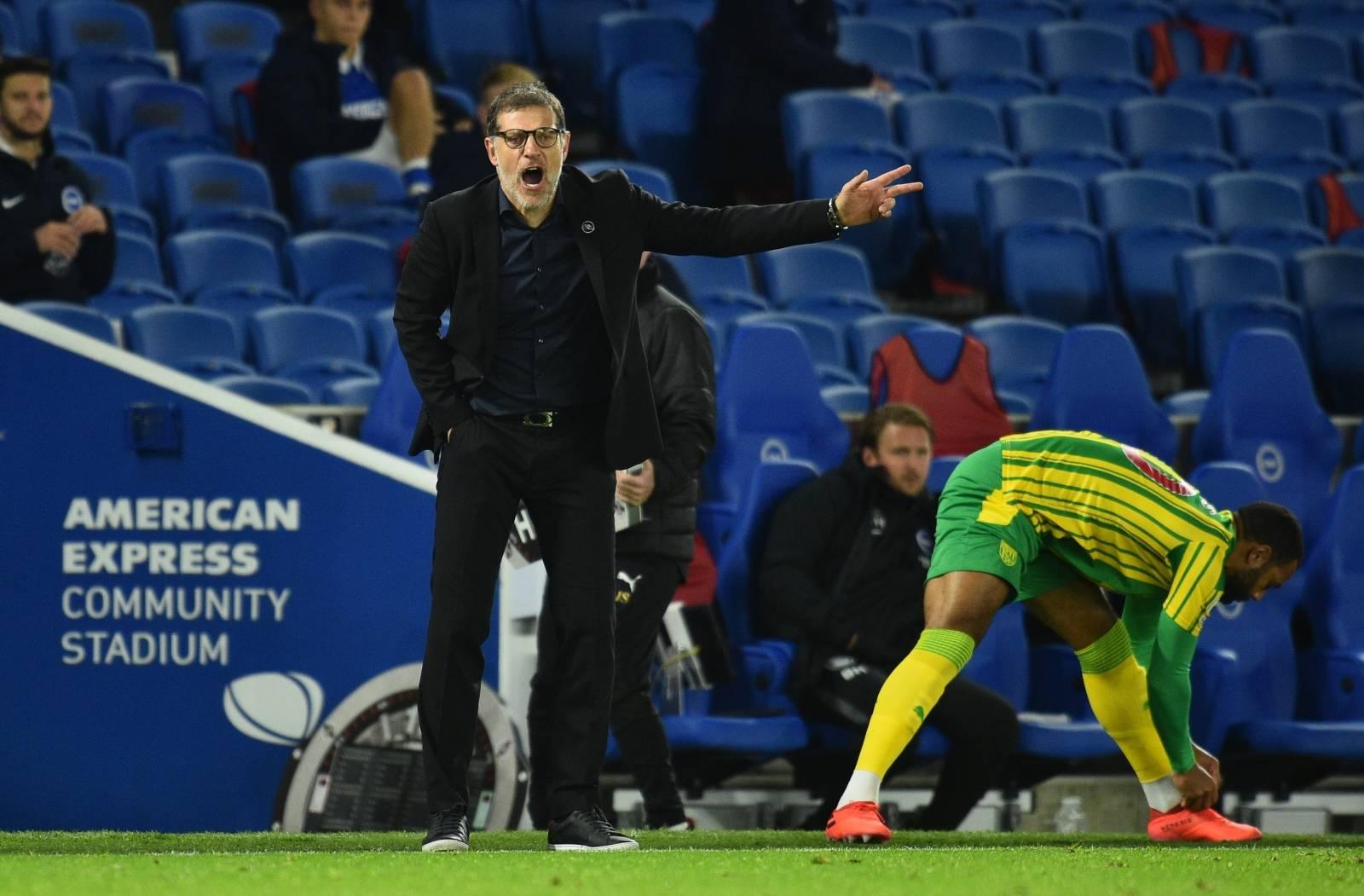 Premier League - Brighton & Hove Albion v West Bromwich Albion