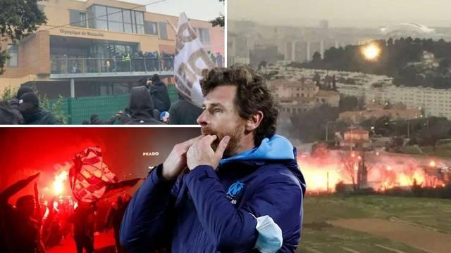 Odgođen susret u Marseilleu jer su huligani provalili u kamp i prijetili igračima i predsjedniku