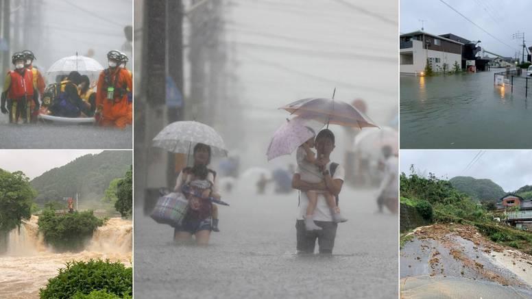 U obilnim kišama i klizištima u Japanu ima poginulih i nestalih