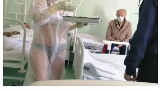 Medicinska sestra na zaraznom odjelu nosila je samo bikini...