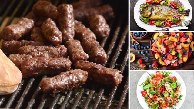 Izbrojali smo kalorije: Umjesto bureka i ćevapa možete pojesti 'brdo zdravih namirnica'