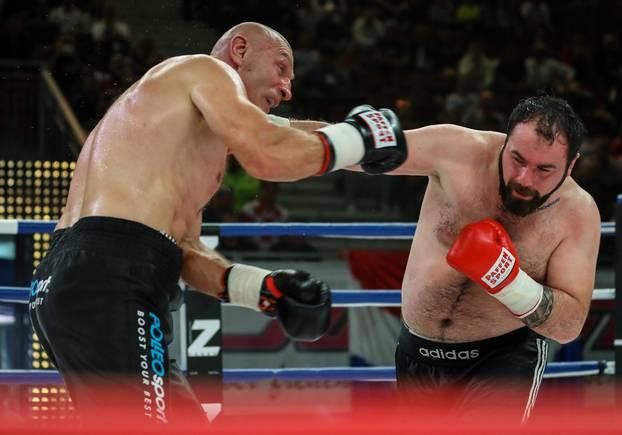 Željko Mavrović nakon pune 23 godine ponovno u ringu, u borbi protiv Gruzijca