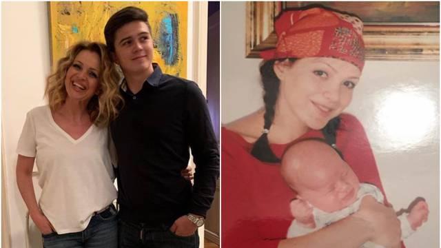 Sandra otkrila staru fotku sebe i sina: Sad ste kao brat i sestra