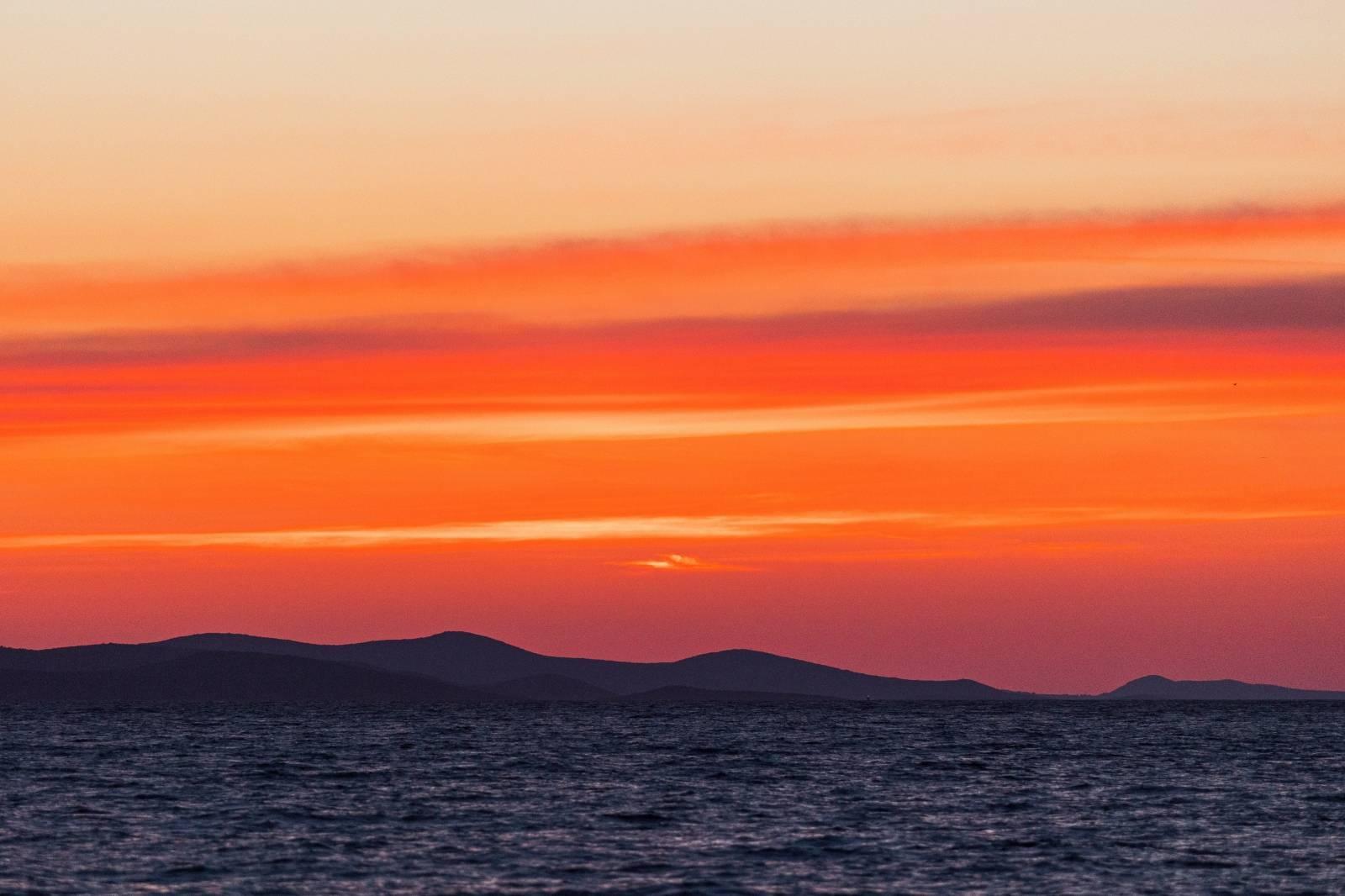 Zalazak sunca u Zadru slovi kao najljepši zalazak na svijetu