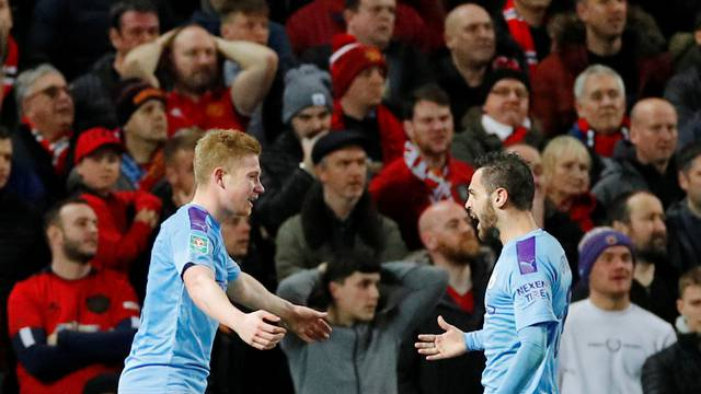 Carabao Cup - Semi Final First Leg - Manchester United v Manchester City
