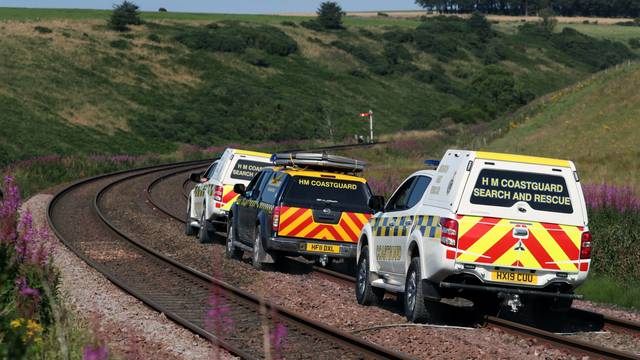 Passenger train derails near Stonehaven in Scotland