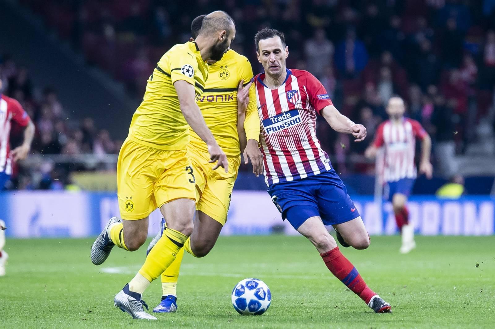 ATLETICO DE MADRID v BORUSSIA DORTMUND. Champions League 2018-2019.