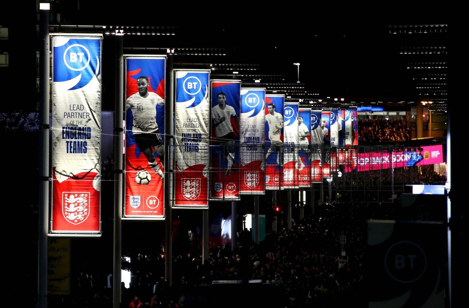 England v Montenegro - UEFA Euro 2020 Qualifying - Group A - Wembley Stadium