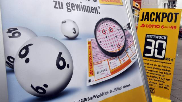 German lotto jackpot rises to 30 million euro