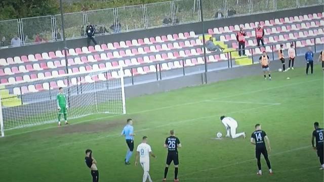 Lukavi penal iz 2. HNL: Zavarao golmana i ostavio ga ukopanog