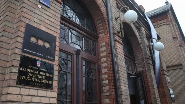 Zagreb: Zgrada Akademija dramske umjetnosti