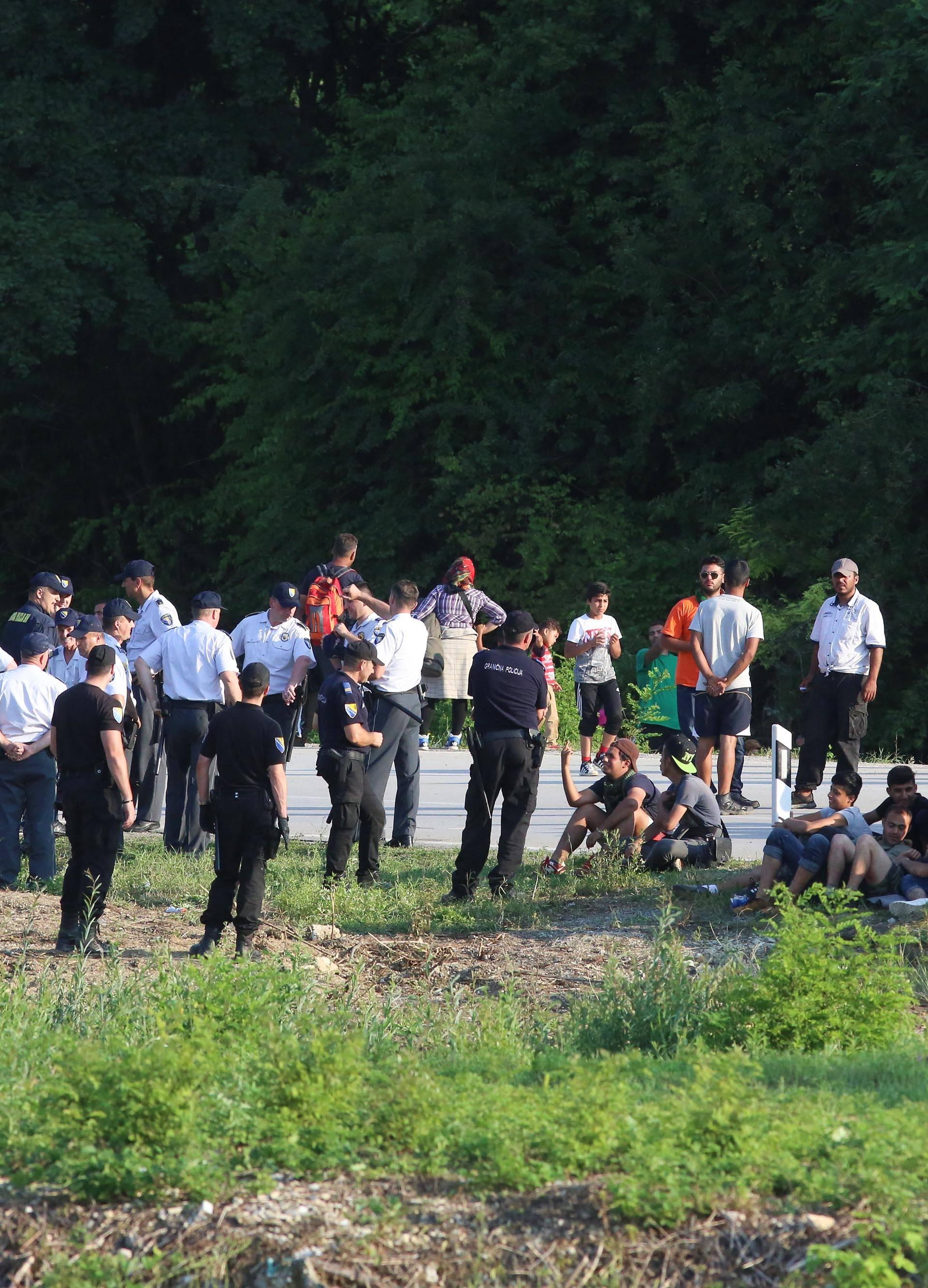 BIH: Granični prijelaz Maljevac navečer je opet otvoren