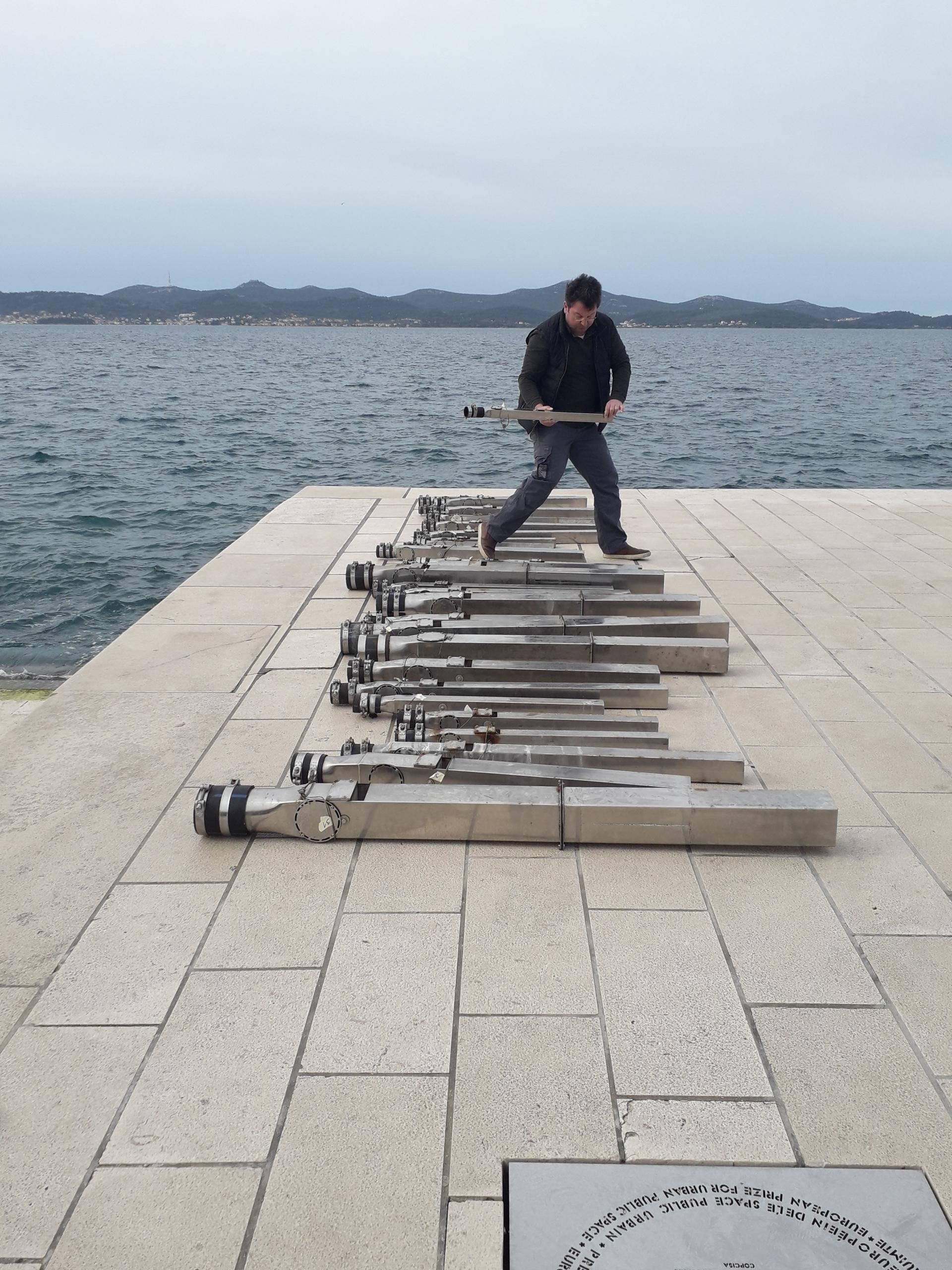 Morske orgulje idu na remont: Završetak radova - do Uskrsa