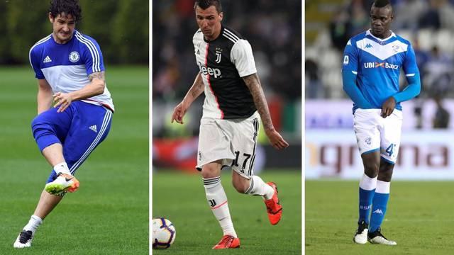 Tri 'vatrena', Balotelli, Pato i najjači slobodni igrači na tržištu