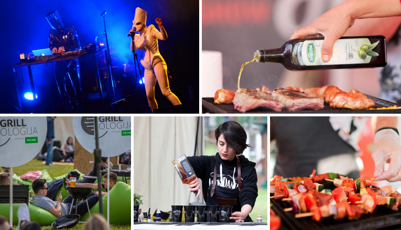 Danas na Bundeku: Grill, pivo, kokteli, Kojoti, Nipplepeople...
