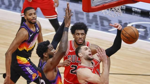 NBA: Phoenix Suns at Chicago Bulls