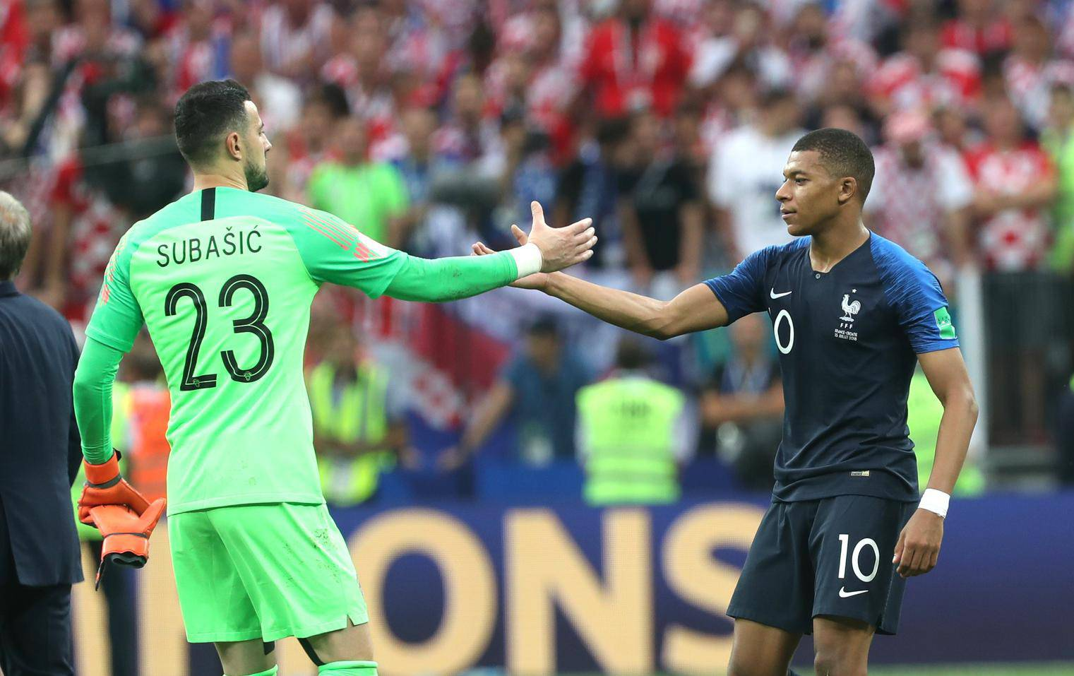 FIFA World Cup 2018: France vs. Croatia