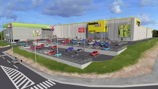 Lesnina XXXL započela je renovaciju i proširenje svog prodajnog centra