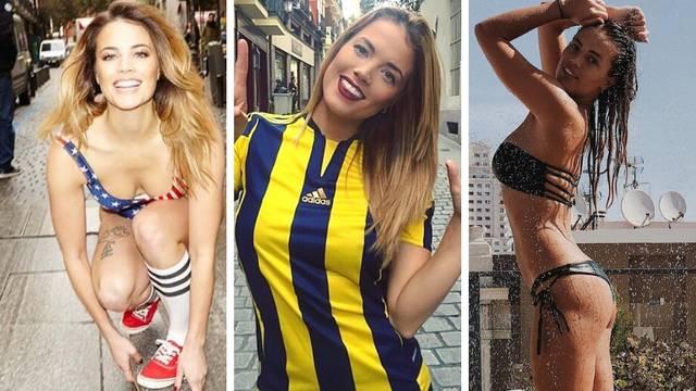 Seksi navijačica Fenera u samo tri sekunde zaludjela je Turke...