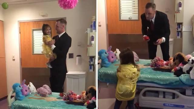 Čista emocija: Otac sa kćerkom zaplesao nakon kemoterapija