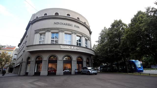 Zagreb: Zgrada Hrvatskog novinarskog društva