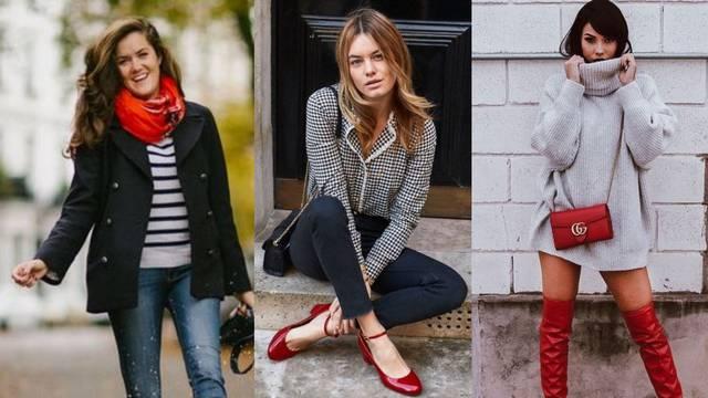 Dnevna doza optimizma: Crvena torbica, cipele ili fina marama