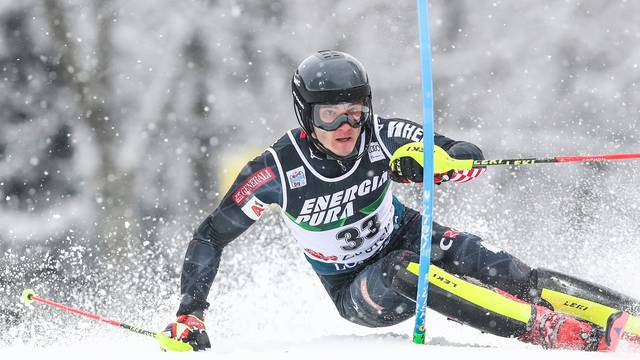 Zagreb: Prva vožnja muškog slaloma Audi FIS Svjetskog skijaškog kupa