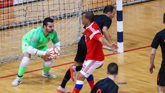 Osijek: Elitno kolo kvalifikacija za Svjetsko prvenstvo u futsalu, Rusija - Hrvatska