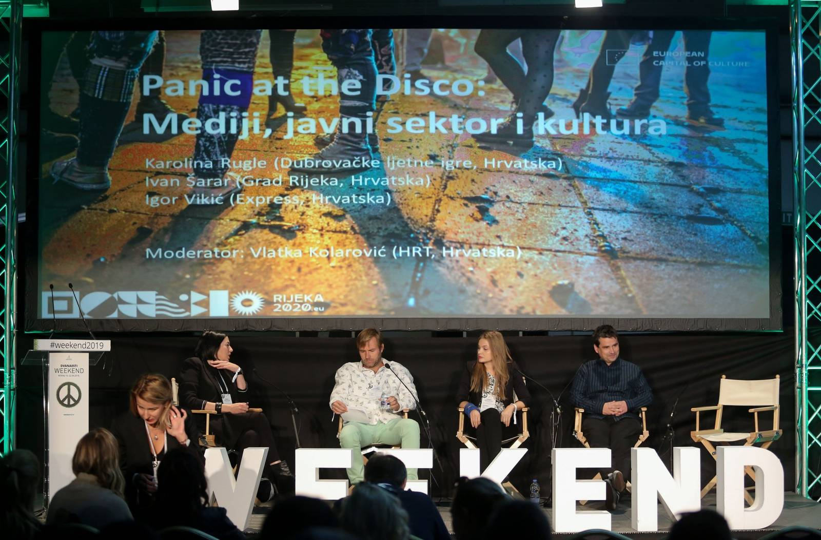 Rovinj: Weekend Media Festival, predavanje Panic at the disco